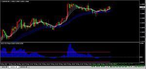RAVI+顾比线交易系统